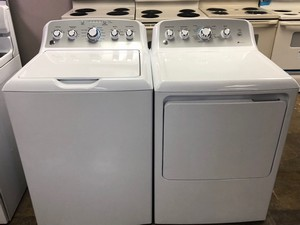 New Scratch And Dent Ge Washer Dryer Set Appliance Max