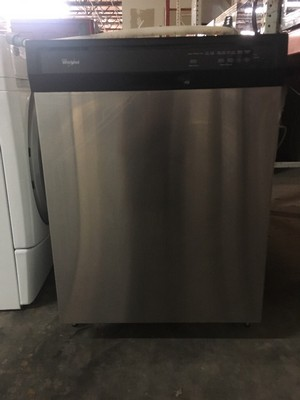 stainless whirlpool dishwasher