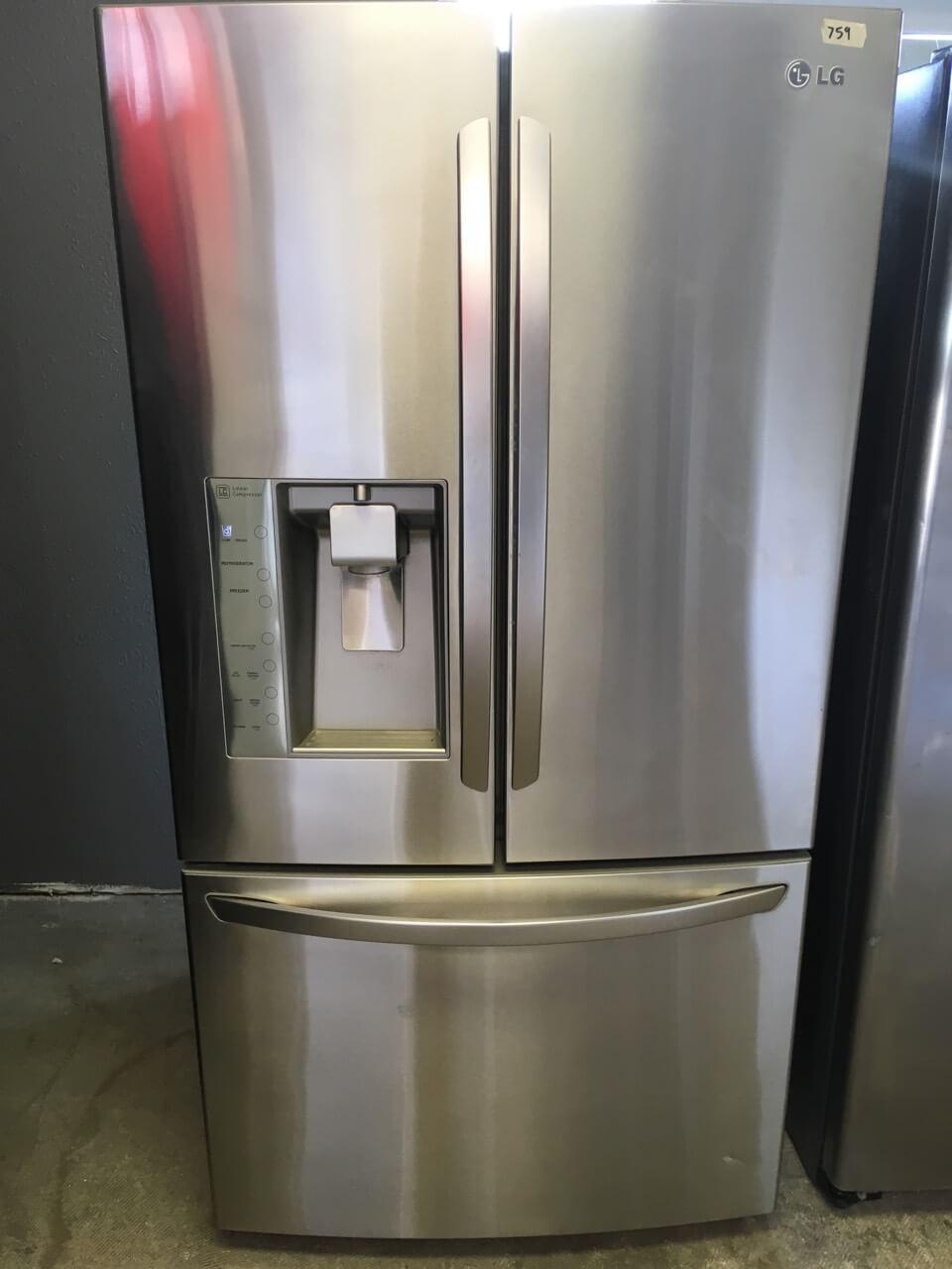LG Stainless Steel 36 Inch French Door Fridge